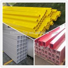 fiberglass structural pultruded profile frp square tube