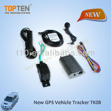 New car gps tracker TK108 stop engine, free web-tracking