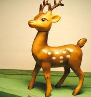 small plastic toy deer,mini plastic deer toys for sale,animate deer plastic toy