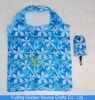 foldable polyester shirt vest wallet shopping bag