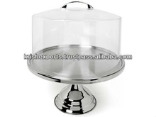 Tall Cake Stand with Acrylic Cover