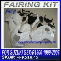 ABS Fairing for hayabusa gsxr 1300 1999-2007 unpaint fairing FFKSU012