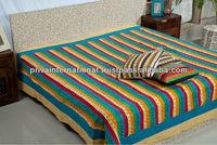 indian handmade multypatch bedding set