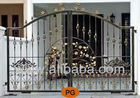 Singapore Wrought Iron Driveway Fence Gates