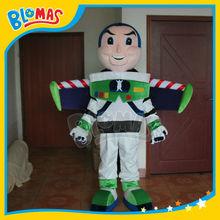 buzz lightyear traje de la mascota con alas