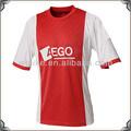 2014 futbol t shirt kulüpleri Toptan ajax futbol üniforma forması çin tedarikçisi