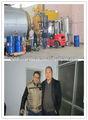 Pneus de caminhão/carro de reciclagem de pneus pyorlysis máquina de pirólise de refinaria de petróleo