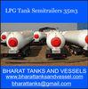 LPG Tank Semitrailers 35m3