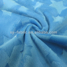 heart design brush/ short pile velboa for shoes lining and mat cover