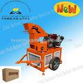 Ly1-20 manuel de brique de béton faisant la machine petits industrie des machines