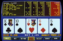 Retro Video Poker