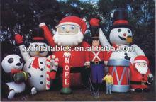 Christmas inflatable Santa snowman character cartoon