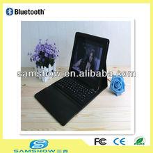 Leather case bluetooth keyboard for ipad 2 Ipad 3