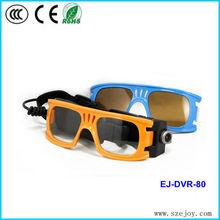 Full hd 1080p 30 fps sports camera sunglass DVR & EJ-DVR-80