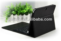 Hot selling good quality Bluetooth Leather Keyboard Stand For Samsung Galaxy Tab3 10.1 P5200 P5210
