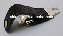 Keychain leather USB driver