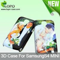 3D Sublimation Mobile Case for Samsung S4 Mini