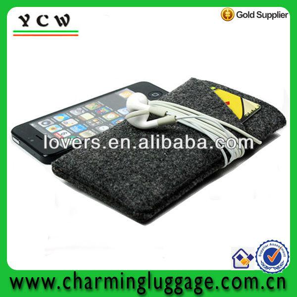 felt mobile phone protective sleeve