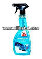 Car glass cleaning liquid