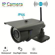 1080P 5MP WIFI waterproof bullet ip camera hd industrial camera with P2P, ONVIF, Low Lux, 4-9mm Varifocal Lens