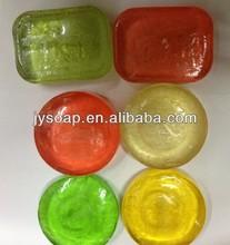 Colorful decorative glycerine soap
