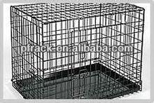 Metal outdoor wooden pet cage