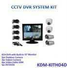 2013 Modern&Home! 4ch cctv camera system with 15.6 inch Monitor DVR