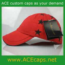 five-pointed star baseball caps /custom/embroidery baseball cap