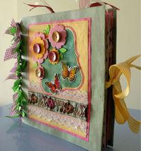 Handmade photo album and scrapbook