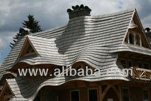roof wooden shingles, tiles
