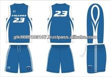100% poliéster personalizado sublimado uniformes de basquete para senhoras