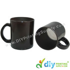 Magic Mug (Glass) (Black)