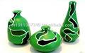miniatures en terre cuite de poterie avec exclusive art abstrait