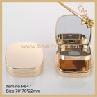 square cosmetic compact wholesale cosmetic container
