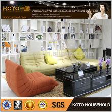 Lovely fabric living room soft comfortable sofa set