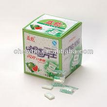 Makanan ringan gula-gula getah chewing gum