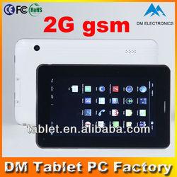 Dual cameras 7 inch A13 tablet bluetooth mini no brand smart phone