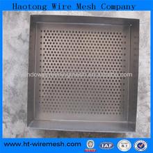 Foldable Aluminium Perforated Mesh / Perforated Hole Mesh/Hexagonal Perforated Metal Mesh