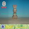 2014 alta qualidade coelho de cerâmica estatueta