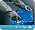 Industrial Long Rubber Glove Black