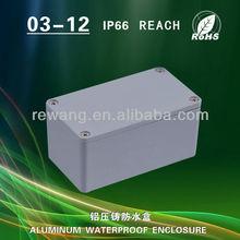 diecast aluminium enclosure