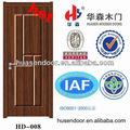 mejor venta al ras del interior de chapa de madera puerta de madera para el dormitorio