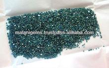 Natural Blue Diamond Round Cut Loose Gemstones