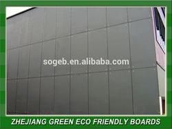 High Density Fiber Cement Wall Facade