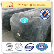 With spread applications of inflatable rubber concrete casting form