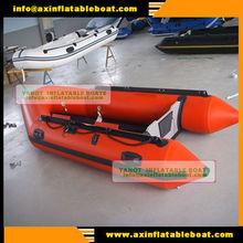 hot!!!(CE) 8passengers 4.3m pvc material folding inflatable fishing boat YAIB-4