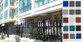 Moderno a buon mercato artificiale zincato recinzione giardino cancelli( bsg- c5)