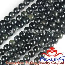 Natural Healing Gemstone Black Obsidian Beads bead landing