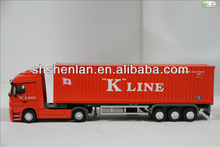 1:50 Scale Died Cast Zinc Alloy Truck Trailer Model
