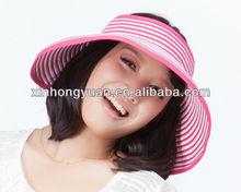 wide bill sun visor cap adults and children visor cap